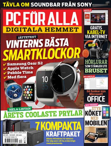 PC för Alla December 08, 2015 00:00