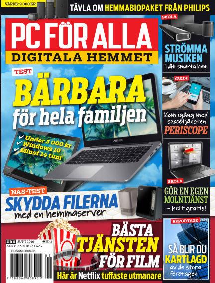 PC för Alla May 17, 2016 00:00