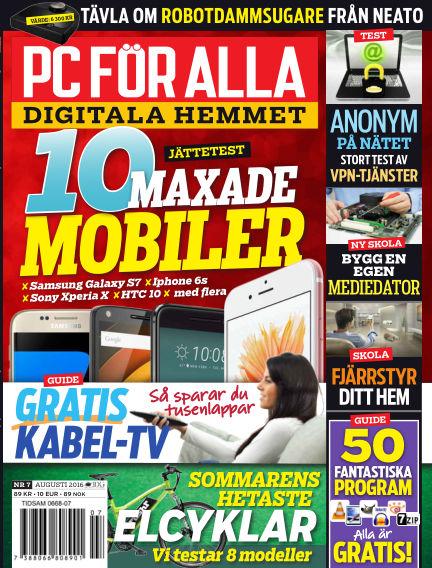 PC för Alla July 19, 2016 00:00