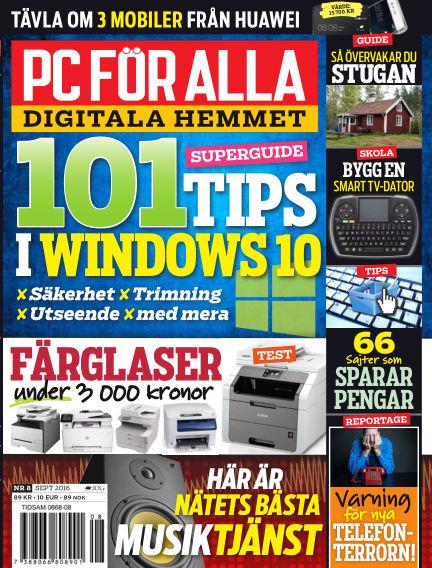 PC för Alla August 16, 2016 00:00