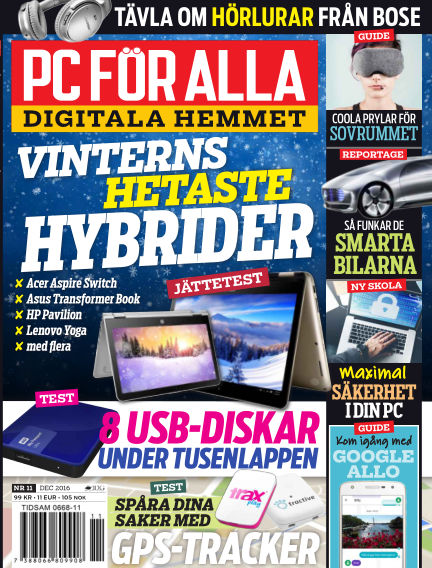 PC för Alla November 14, 2016 00:00