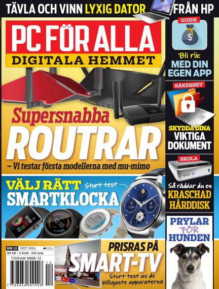 PC för Alla December 08, 2016 00:00