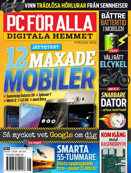 PC för Alla July 25, 2017 00:00
