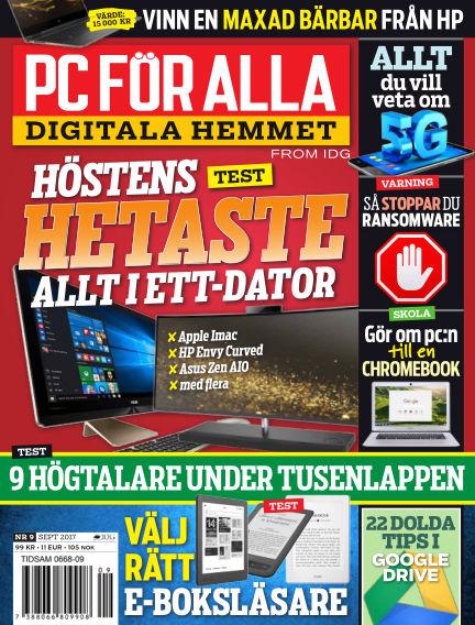 PC för Alla August 22, 2017 00:00