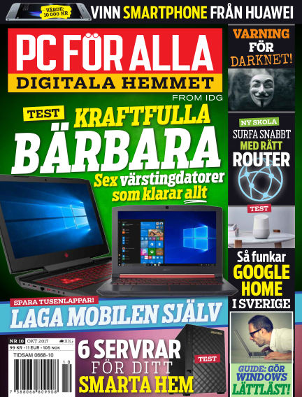 PC för Alla September 26, 2017 00:00