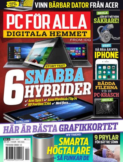 PC för Alla November 24, 2017 00:00