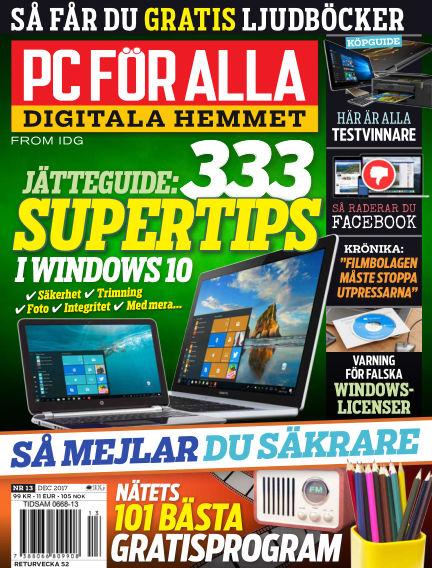 PC för Alla December 15, 2017 00:00