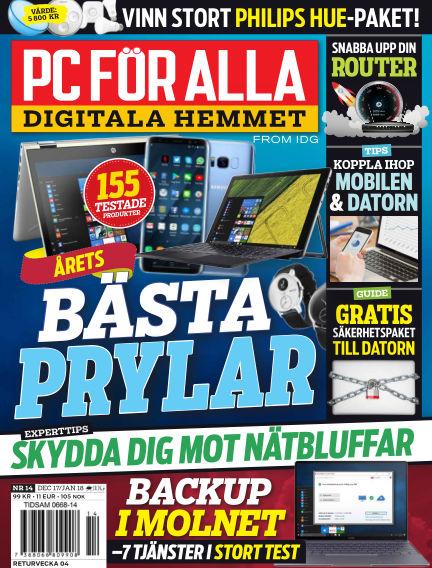 PC för Alla December 29, 2017 00:00