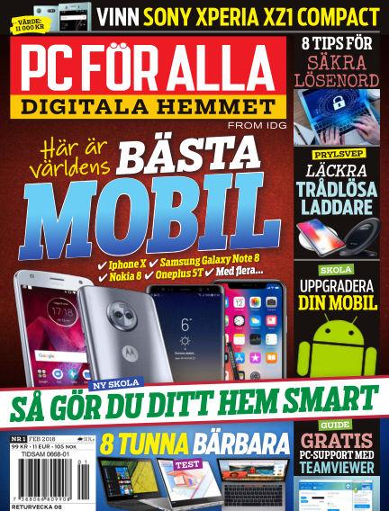 PC för Alla January 26, 2018 00:00