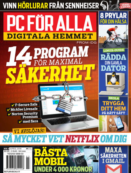 PC för Alla March 23, 2018 00:00