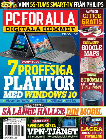 PC för Alla April 27, 2018 00:00