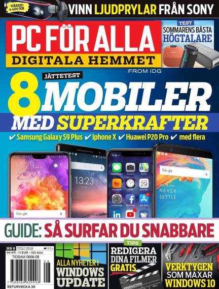 PC för Alla July 02, 2018 00:00