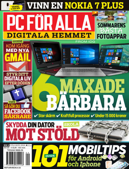PC för Alla July 23, 2018 00:00