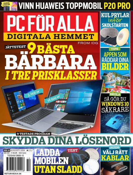 PC för Alla August 13, 2018 00:00