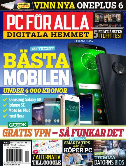 PC för Alla September 03, 2018 00:00
