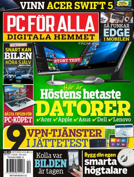 PC för Alla September 24, 2018 00:00
