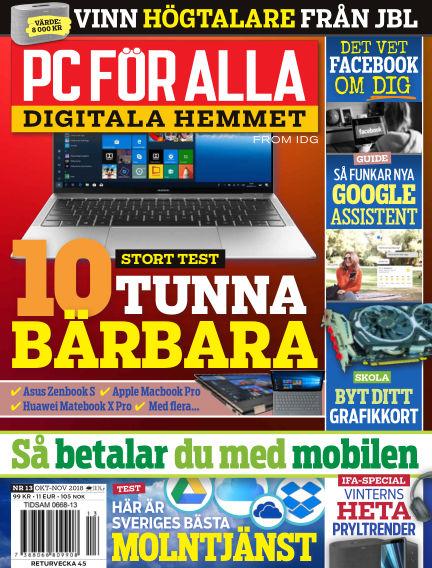 PC för Alla October 15, 2018 00:00