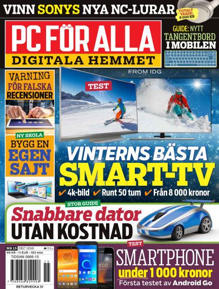 PC för Alla November 26, 2018 00:00