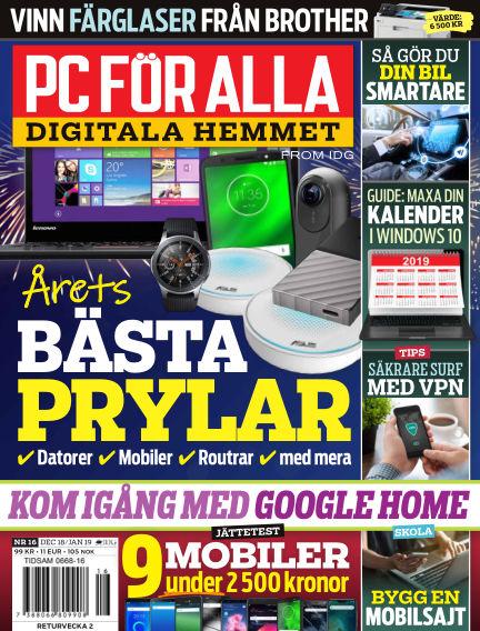 PC för Alla December 17, 2018 00:00
