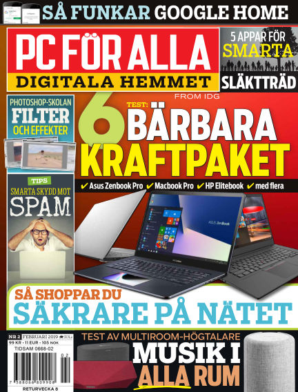 PC för Alla January 28, 2019 00:00