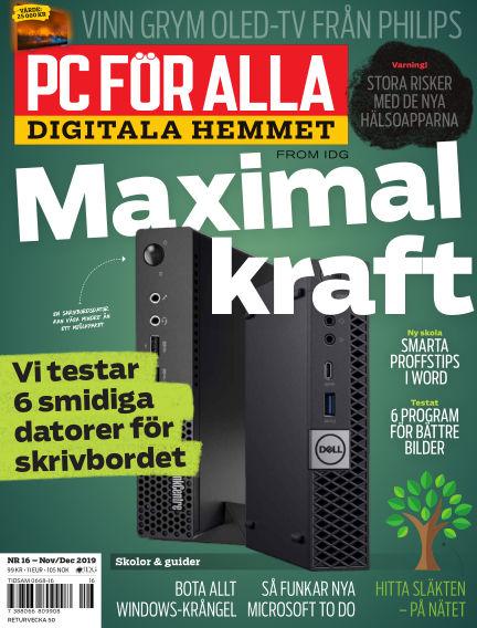 PC för Alla November 18, 2019 00:00