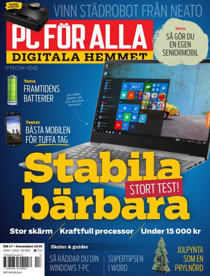 PC för Alla December 09, 2019 00:00