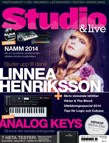 Studio (Inga nya utgåvor) February 21, 2014 00:00