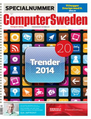 Computer Sweden (Inga nya utgåvor) 2013-10-17