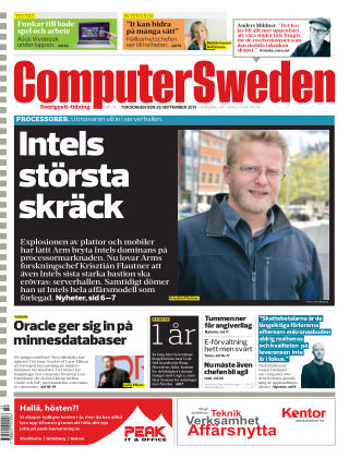 Computer Sweden (Inga nya utgåvor) 2013-09-26