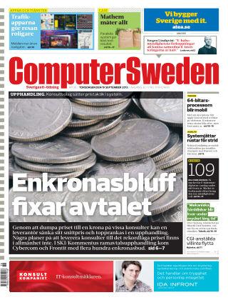 Computer Sweden (Inga nya utgåvor) 2013-09-19