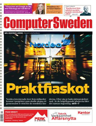 Computer Sweden (Inga nya utgåvor) 2013-10-24
