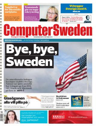 Computer Sweden (Inga nya utgåvor) 2013-10-31