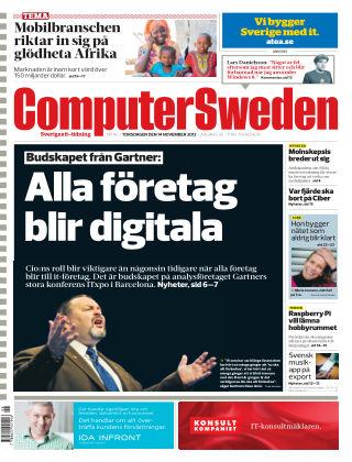 Computer Sweden (Inga nya utgåvor) 2013-11-14