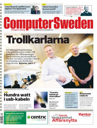 Computer Sweden (Inga nya utgåvor) 2013-12-05