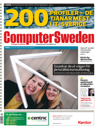 Computer Sweden (Inga nya utgåvor) 2013-12-19