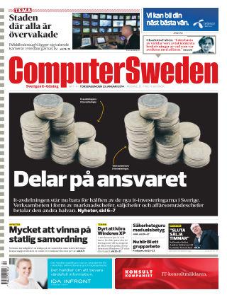 Computer Sweden (Inga nya utgåvor) 2014-01-23