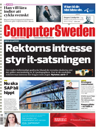 Computer Sweden (Inga nya utgåvor) 2014-02-20