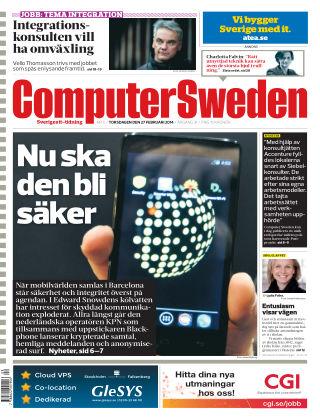 Computer Sweden (Inga nya utgåvor) 2014-02-27