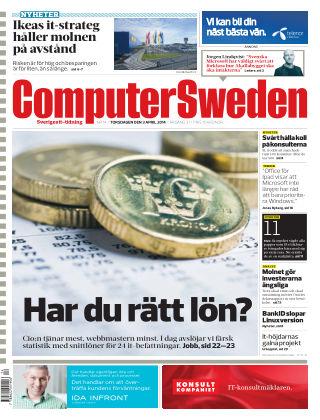 Computer Sweden (Inga nya utgåvor) 2014-04-03