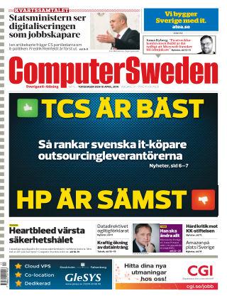 Computer Sweden (Inga nya utgåvor) 2014-04-10