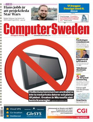 Computer Sweden (Inga nya utgåvor) 2014-04-24