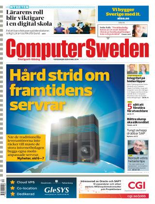 Computer Sweden (Inga nya utgåvor) 2014-05-08