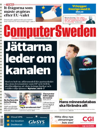 Computer Sweden (Inga nya utgåvor) 2014-05-22