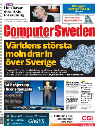 Computer Sweden (Inga nya utgåvor) 2014-06-05