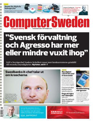 Computer Sweden (Inga nya utgåvor) 2014-09-04