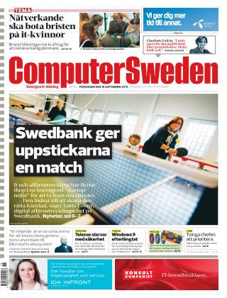 Computer Sweden (Inga nya utgåvor) 2014-09-18