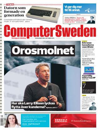 Computer Sweden (Inga nya utgåvor) 2014-10-02