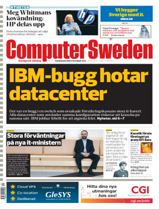 Computer Sweden (Inga nya utgåvor) 2014-10-09