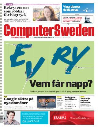 Computer Sweden (Inga nya utgåvor) 2014-10-16