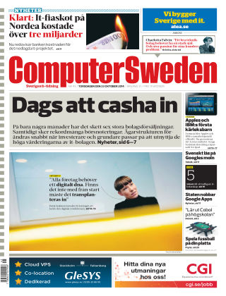 Computer Sweden (Inga nya utgåvor) 2014-10-23